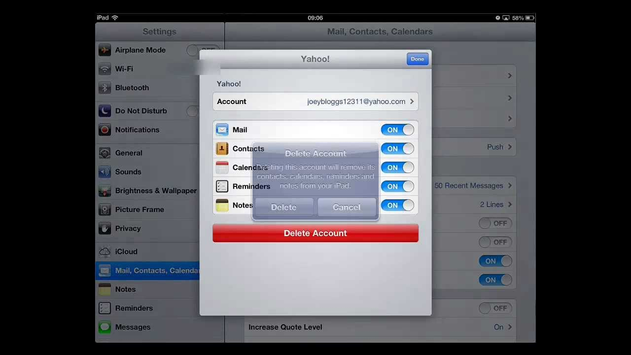 how to mass delete gmail emails on ipad