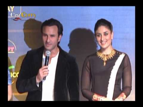 IIFA Press Conference│Kareena Kapoor, Saif Ali Khan
