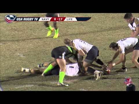 2013 USA Rugby College 7s National Championship: Navy vs. Life University