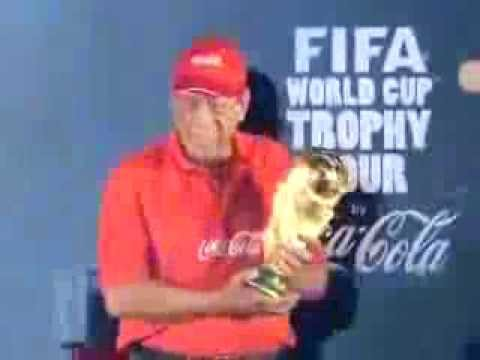 FIFA World Cup Trophy reaches Kolkata