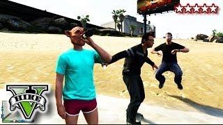 GTA 5 SWIMMING On LAND GLITCH!!! GTA 5 DRINKING