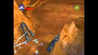 LEGO Star Wars Walkthrough Episode 2 Chapter 4 Gunship
