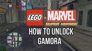 How To Unlock Gamora LEGO Marvel Super Heroes
