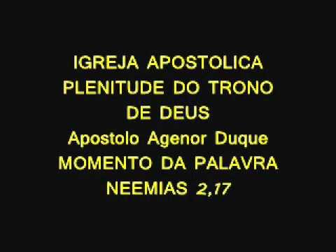 IGREJA APOSTOLICA PLENITUDE DO TRONO DE DEUS