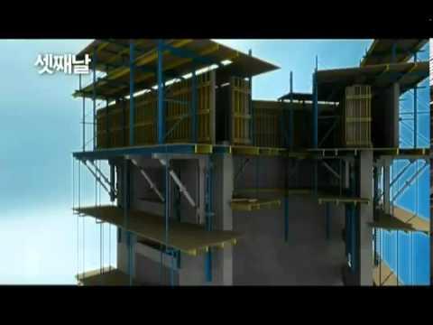 Quá trình xây dựng tháp Burj Dubai