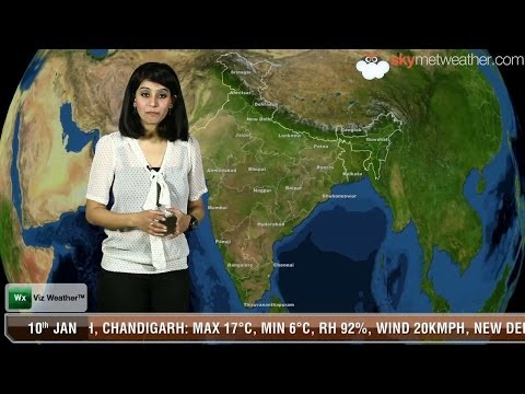 10/01/14 - Skymet Weather Report for India