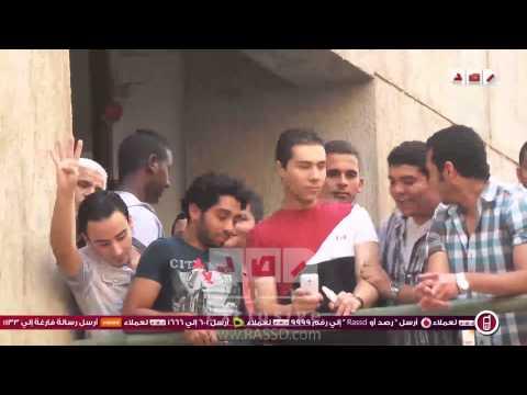 حرق صور السيسى بجامعة حلوان