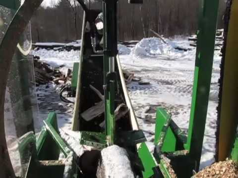 The Woodbine Jr. Firewood Processor InfoVideo (Dec. '09) - CRD Metalworks Woodbine