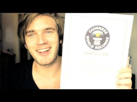A WORLD RECORD HOLDER! (Fridays With PewdiePie)