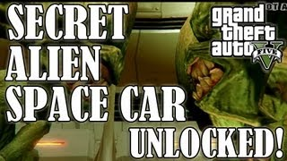 GTA 5 How To Get The ALIEN SPACE CRAFT! (Where To Find
