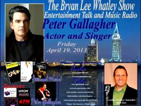 Peter Gallagher, Actor/Singer, on The Bryan Lee Whatley Show