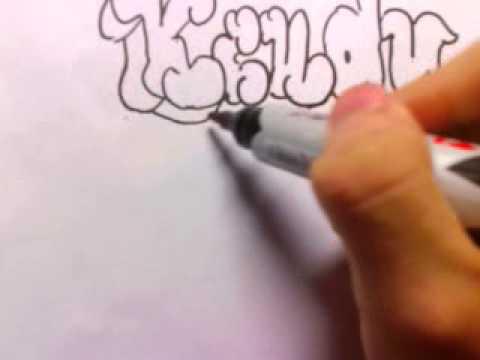 Vẽ chữ graffiti!!!
