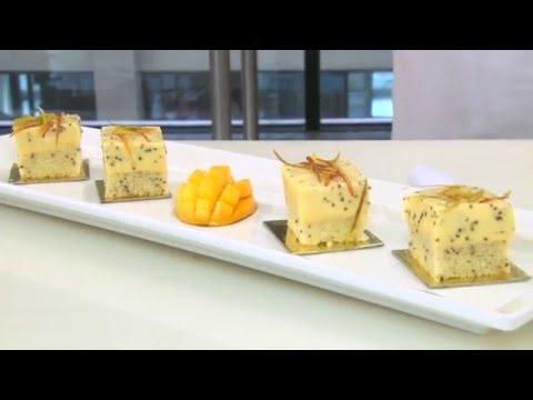 RECEITA: CAKE DE MANGA COM CHIA