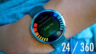 24 Hours With The Moto 360