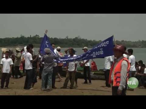 Residents in Steung Treng and Relevant Institutions Campaign against Laos Hydropower Plants