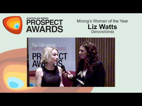 Mining's Woman of the Year: Liz Watts - Glencore