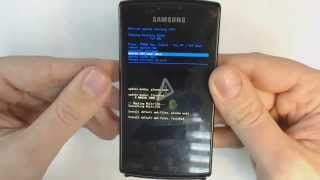 Samsung Galaxy S I896 I897 Captivate Hard Reset