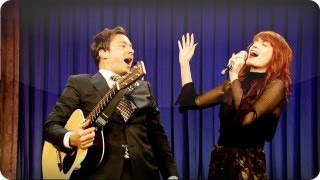 Jimmy Fallon and Florence Welch: Balls In Your Mouth