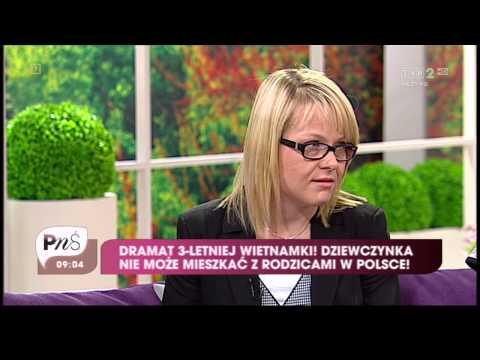 Ba Lan - Câu chuyện có hậu của cô bé Khánh Chi (TVP2, 17.8.2012)