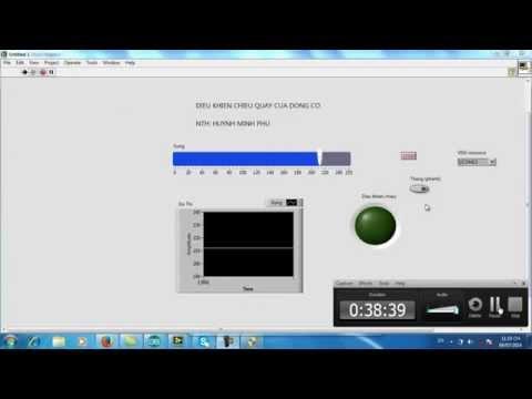 Lập trình vi điều khiển-Phần 31-Thực hiện lập trình băm xung với LabVIEW (tiếp theo) cho Arduino