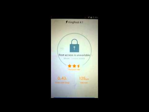 How to Root Lenovo A5000!! (works on most devices)
