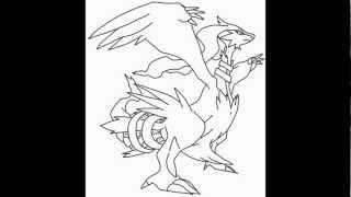 How To Draw Reshiram From Pokemon