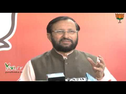 Shri Prakash Javadekar byte on Indian Army: 21.02.2014