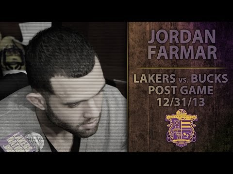 Lakers vs. Bucks: Jordan Farmar On Hamstring Tightness, Feels Like It Did Before He Tore It