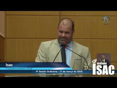 Imagem para vídeo Vereador Isac critica Jair Bolsonaro qu...