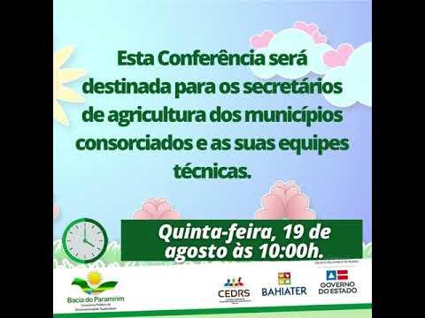 Vem aí  a 3ª Conferência  do ATER, realizada pelo CDS Bacia do Paramirim