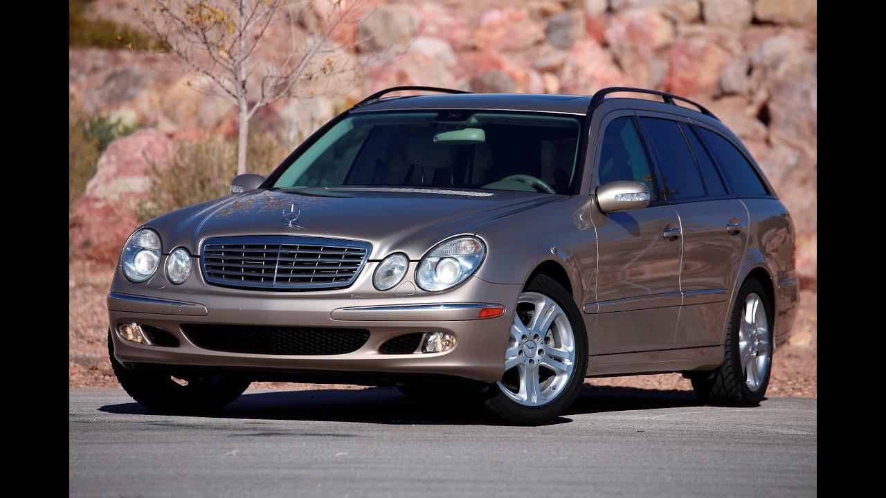 2005 mercedes benz e500 4matic wagon test drive viva for Mercedes benz vegas