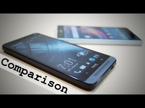 HTC One vs Sony Xperia Z Comparison - Cursed4Eva.com