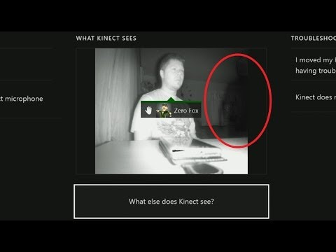 UNEXPLAINED Xbox One Kinect | Ghost Footage Captured Weird Shadow Person? CREEPY DISTURBING