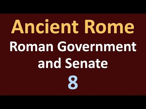 Ancient Rome History - Roman Government and Senate - 08