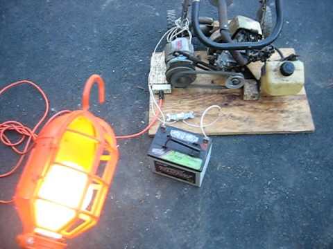 Homemade Generator 11
