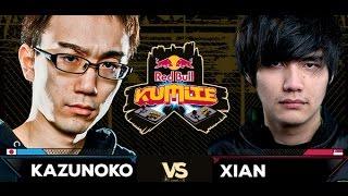 Red Bull Kumite 2016 : Xian vs. Kazanuko - Top 16