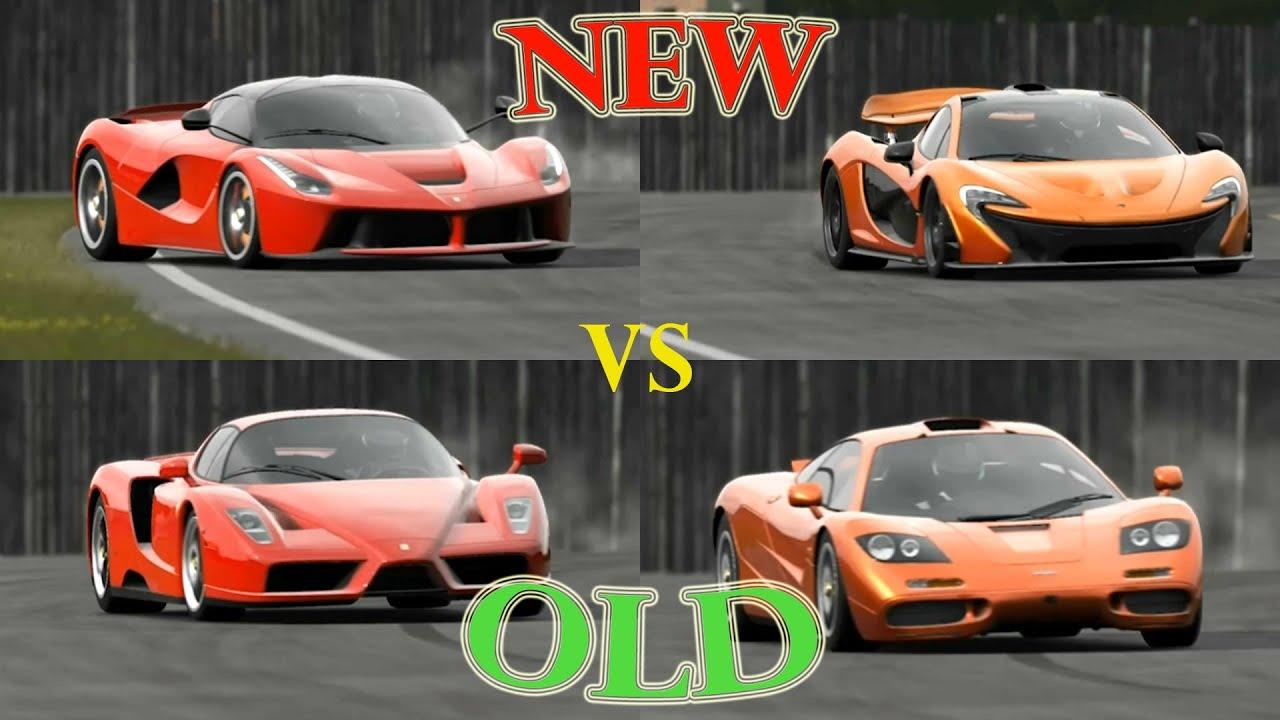 Top Gear Laferrari Vs Ferrari Enzo Vs Mclaren P1 Vs