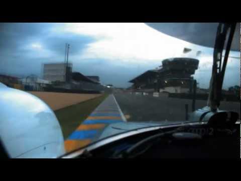 Audi R18 e-tron quattro #2 I Onboard lap of the Le Mans track