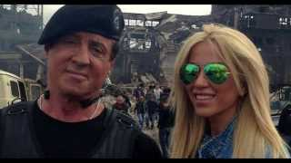 THE EXPENDABLES 3 (2014)-- 9 NEW Pics Of STALLONE