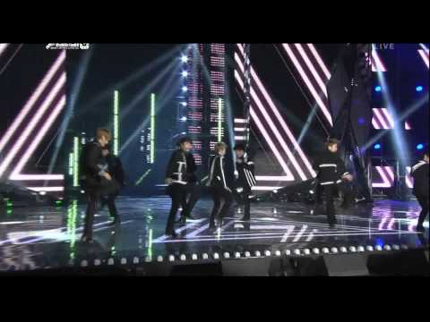 111229 SBS Gayo Daejun - Super Junior - Superman + Mr.Simple