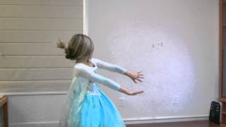 "Erin Sings ""Let It Go"" (With Interpretive Dance)"