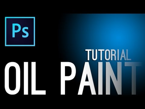 Adobe Photoshop CS6: Beginners Tutorial - Oil Paint Filter