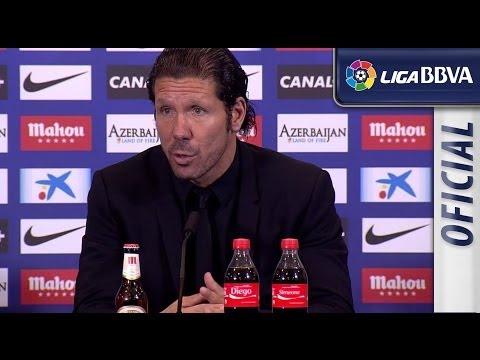 Rueda de Prensa de Simeone tras el Atlético de Madrid (2-0) Athletic Club - HD