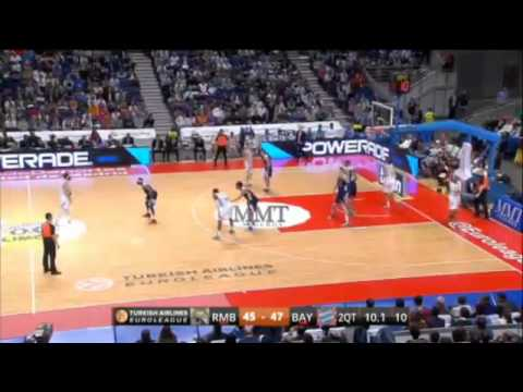 Real Madrid 111-87 FC Bayern Munich: Round 3 Basketball Euroleague Top 16
