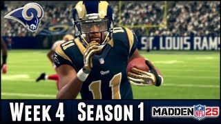 Madden 25 Rams Connected Franchise - Week 4 vs 49ers - Season 1