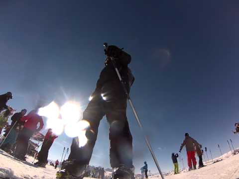 GoPro auf Ski montieren: blde Idee ...