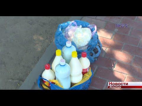 Молочный бизнес на асфальте в Искитиме - выживание бабушек или находчивость перекупщиков?