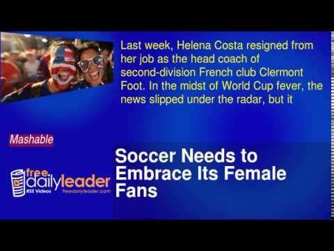 Soccer Needs to Embrace Its Female Fans