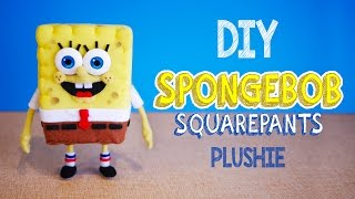 How to make SpongeBob Squarepants Plushie! DIY