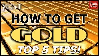 Infinity Blade 3: HOW TO GET GOLD TOP 5 TIPS!